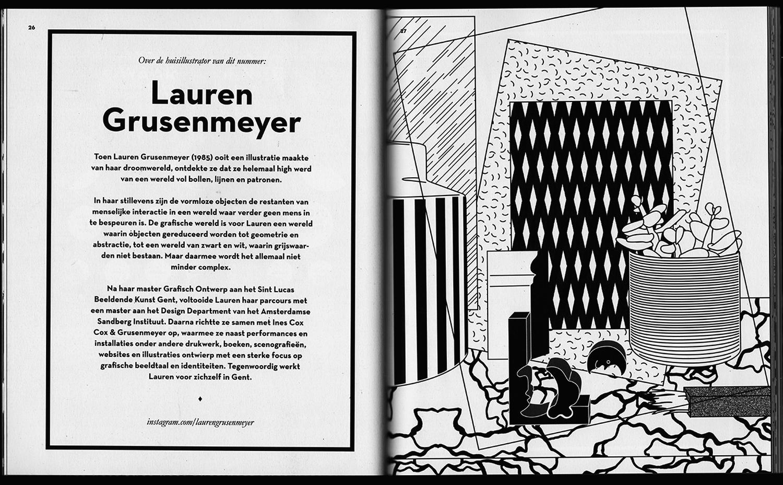Lauren Grusenmeyer Das Magazin